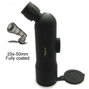 United States Mirror 20X50 BSA Digital Monocular with BK7 Prism and Poly Center